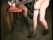 Skank gets gang-fucked at snooker hall wife multiracial group sex