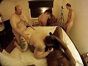 Big mature women participating in an interracial intercourse