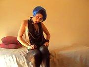 Blue haired teaser